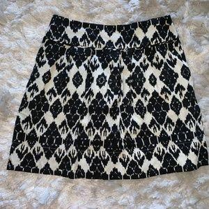 Ann Taylor Loft Ikat Skirt